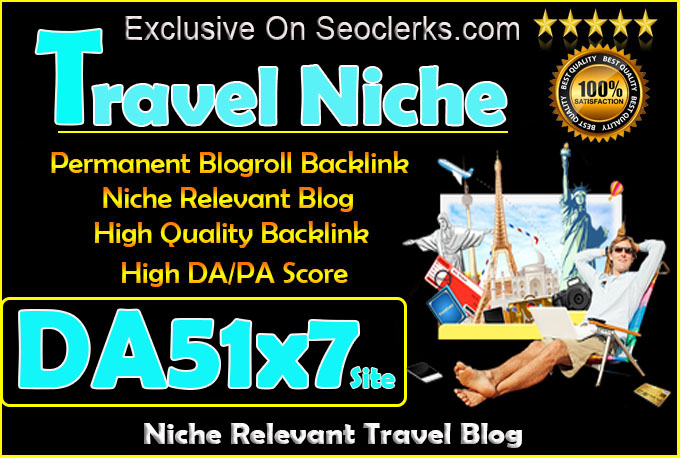 give your backlink on 7xda51 travel blogroll permanent