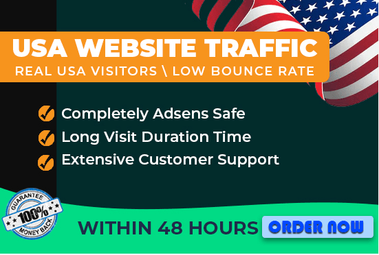 unlimited USA, niche target traffic from google
