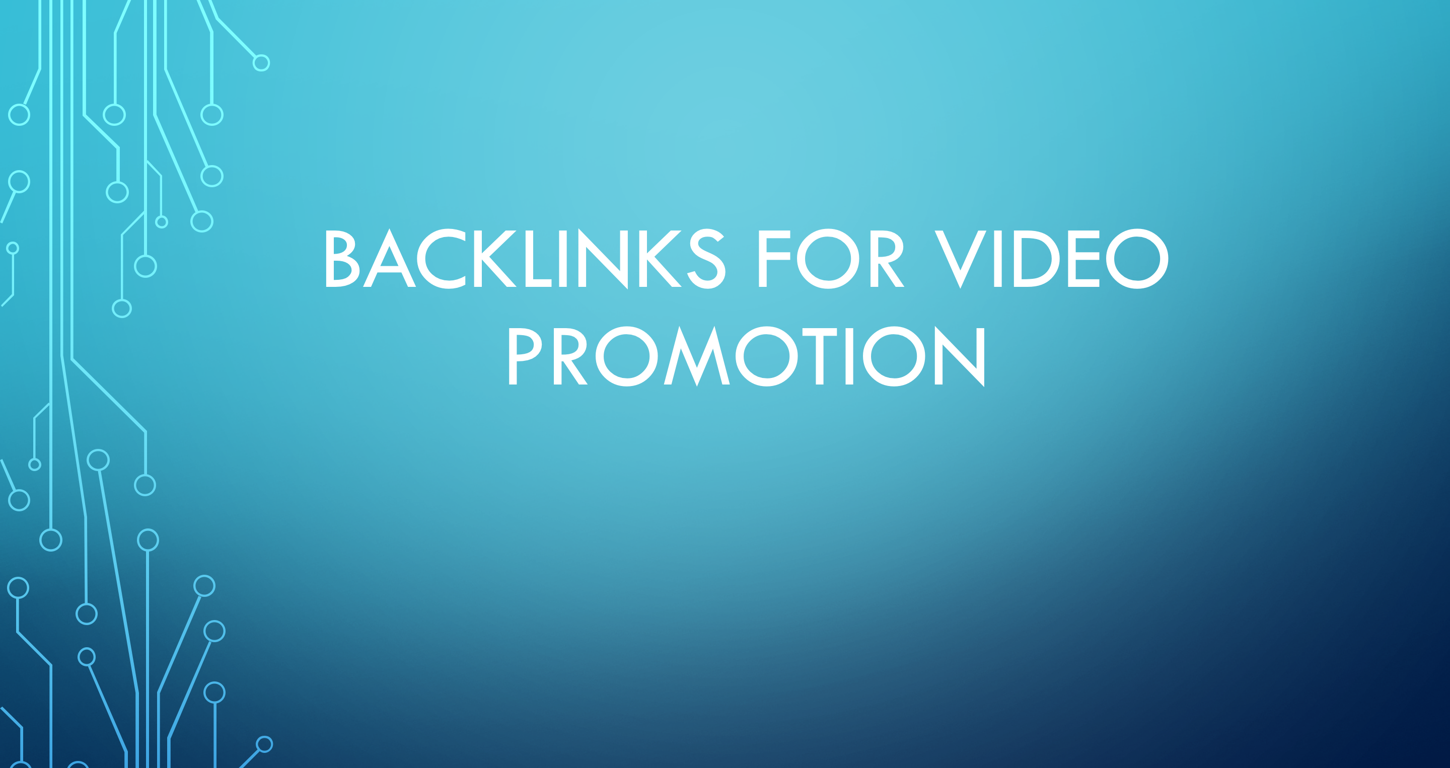 100,000 Backlinks for social media promotion
