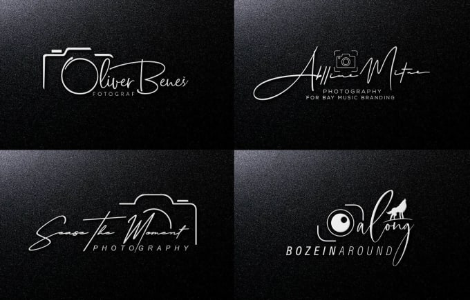 I will do luxury elegant signature logo design