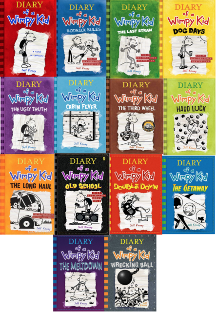 Diary Of A Wimpy Kid Collection 14 Books Set By Jeff Kinney Pdf 1 Ebook 2 For 2 Seoclerks