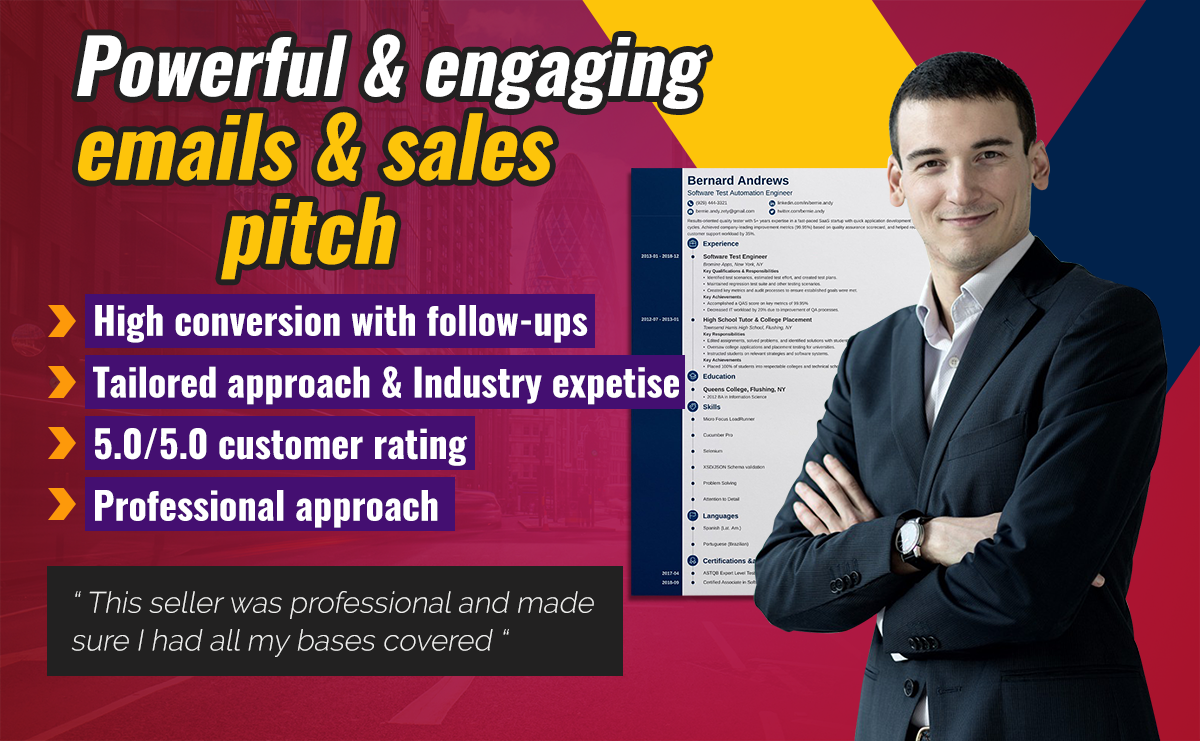 write powerful and engaging emails or a business pitch