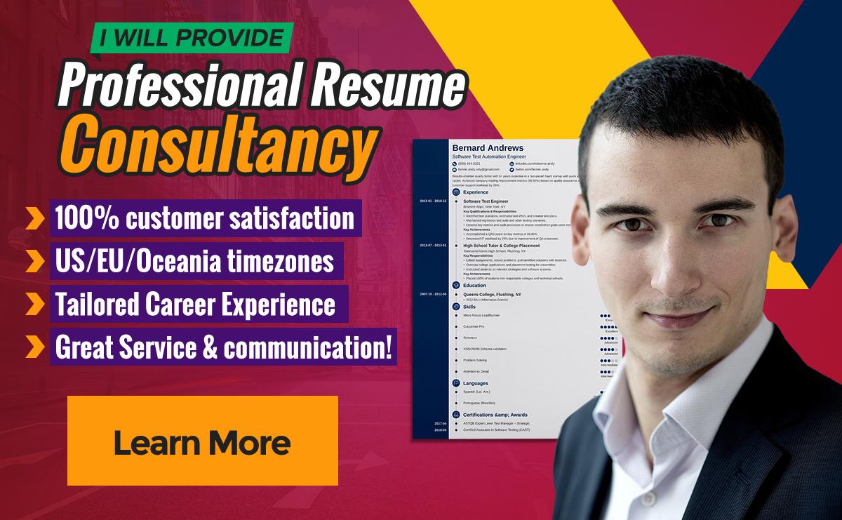 Edit resume or resume consultancy,  resume optimization