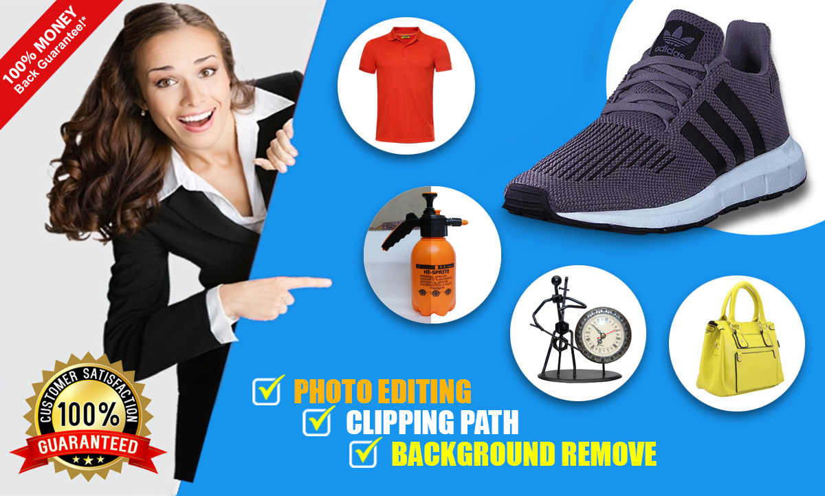 I will do 50 product images background removal professionally