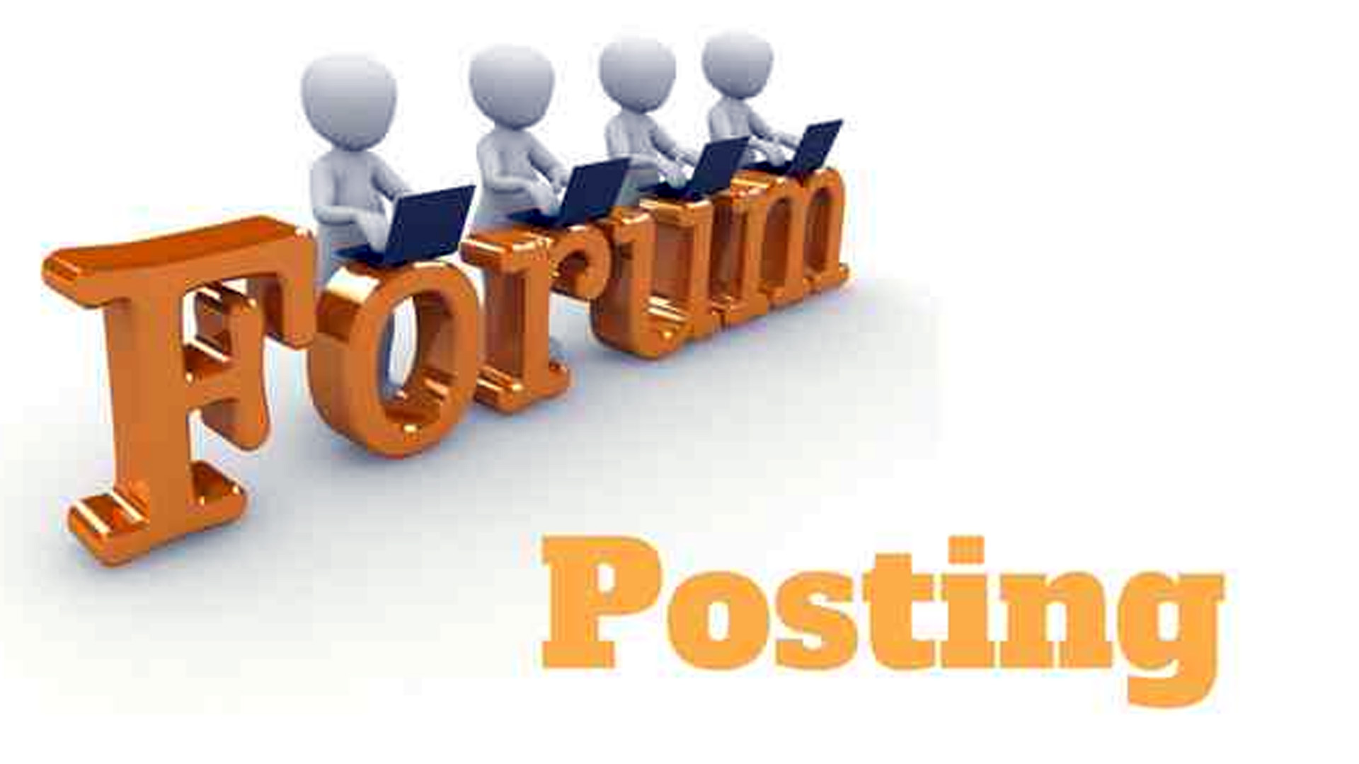 40 forum posting with 20+da pa for your business