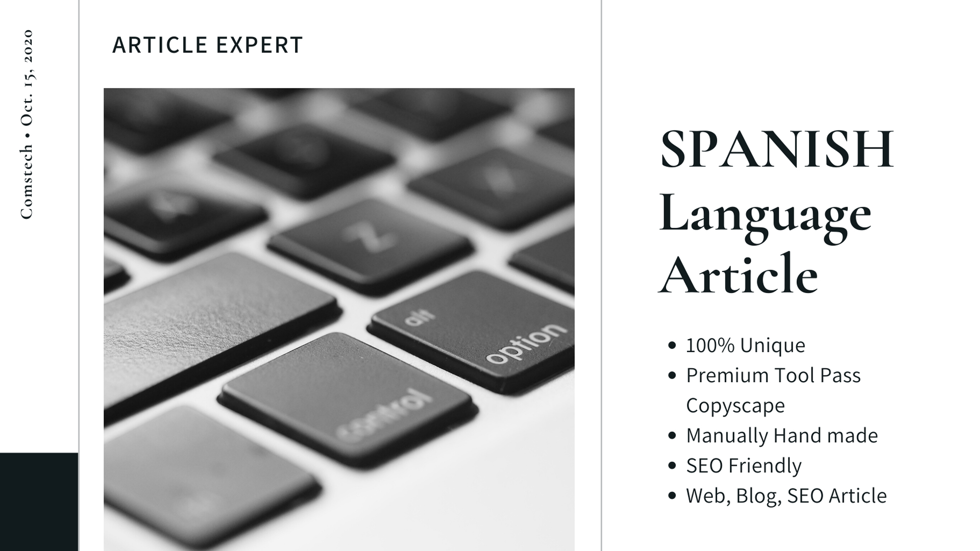 Write an Article in Spanish Language within 400 words or more