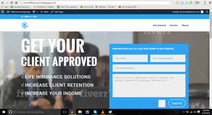 I will develop any kind of responsive wordpress website.