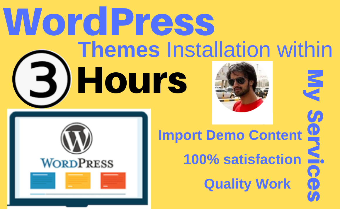 Install Wordpress or any wordrpess theme and setup like its demo and customize it