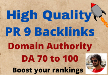 Build 20 DA70+ Powerful High Quality Backlinks