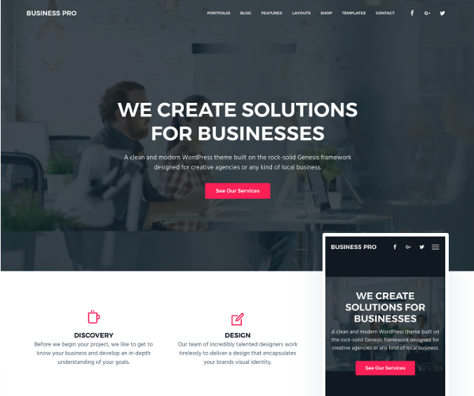 I will create a Professional Business Website in Wordpress with responsive business design