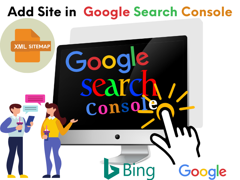 Setup Google Search Console or Bing Webmasters for a Website