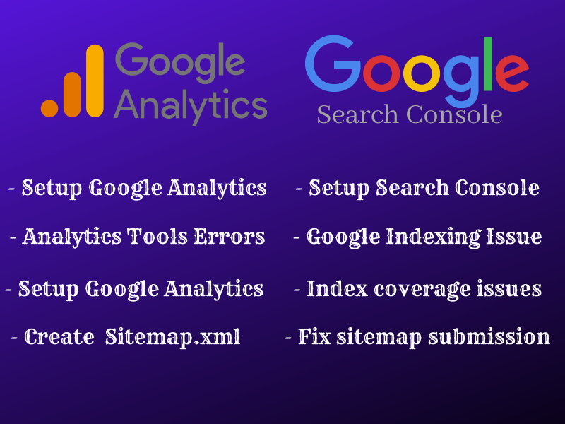 add or fix google search console,  analytics,  Bing Webmaster tool your website