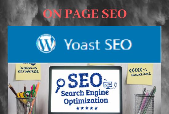 wordpress on page seo optimization using yoast plugin
