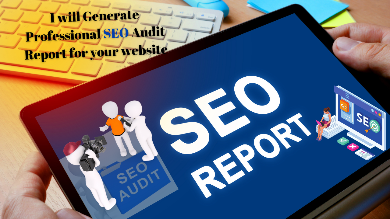 create professional SEO audit report for your website
