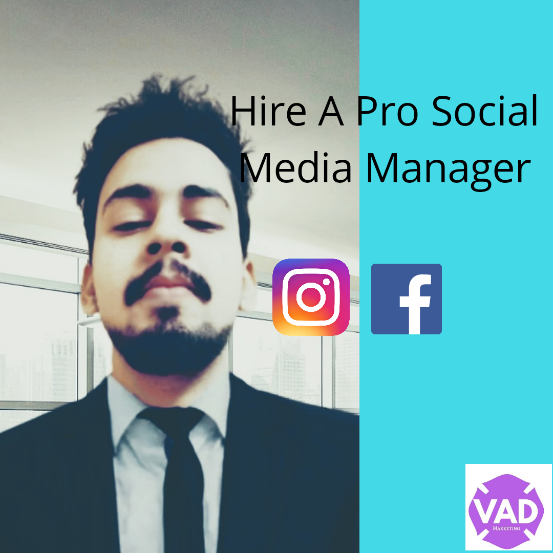 i will be your social media manager for 30 days