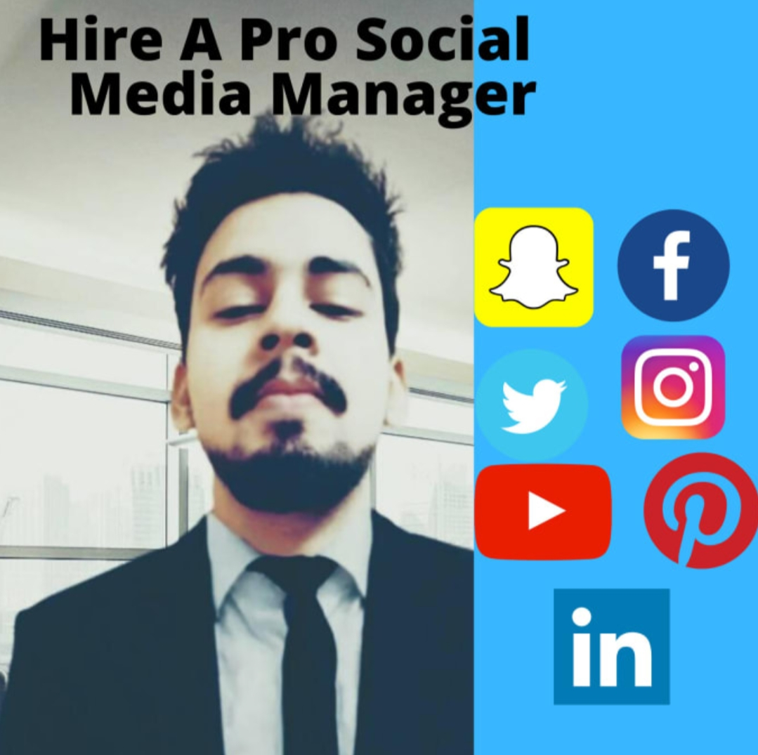 i will be your social media manager for 1 week