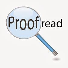 I Will Proofread Your Writings and Documents