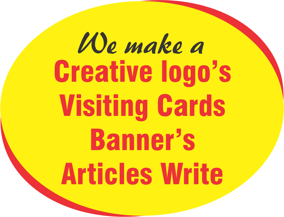 we create all types of designing in short time