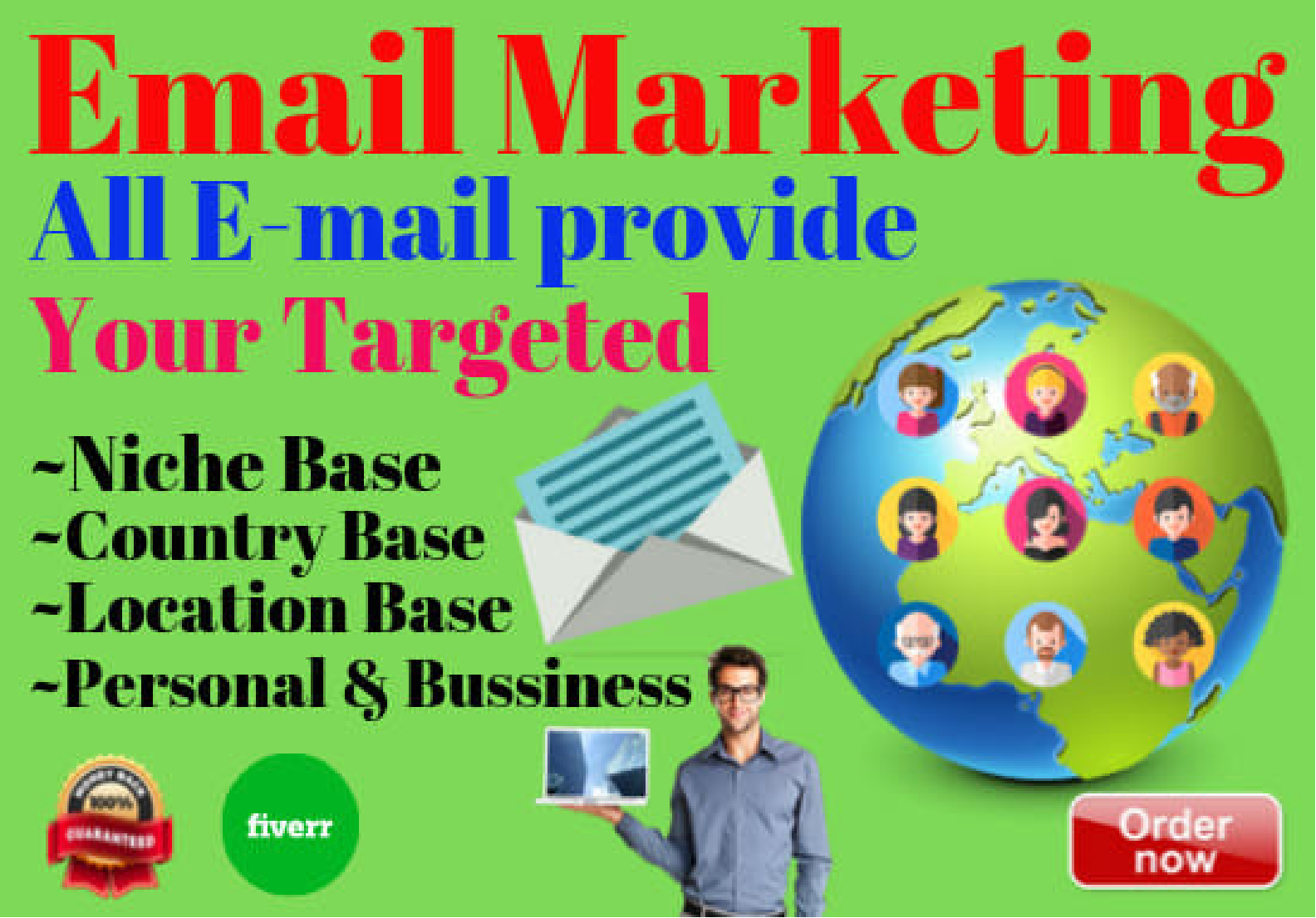 I will collect b2b, b2c lead generation and build targeted email list