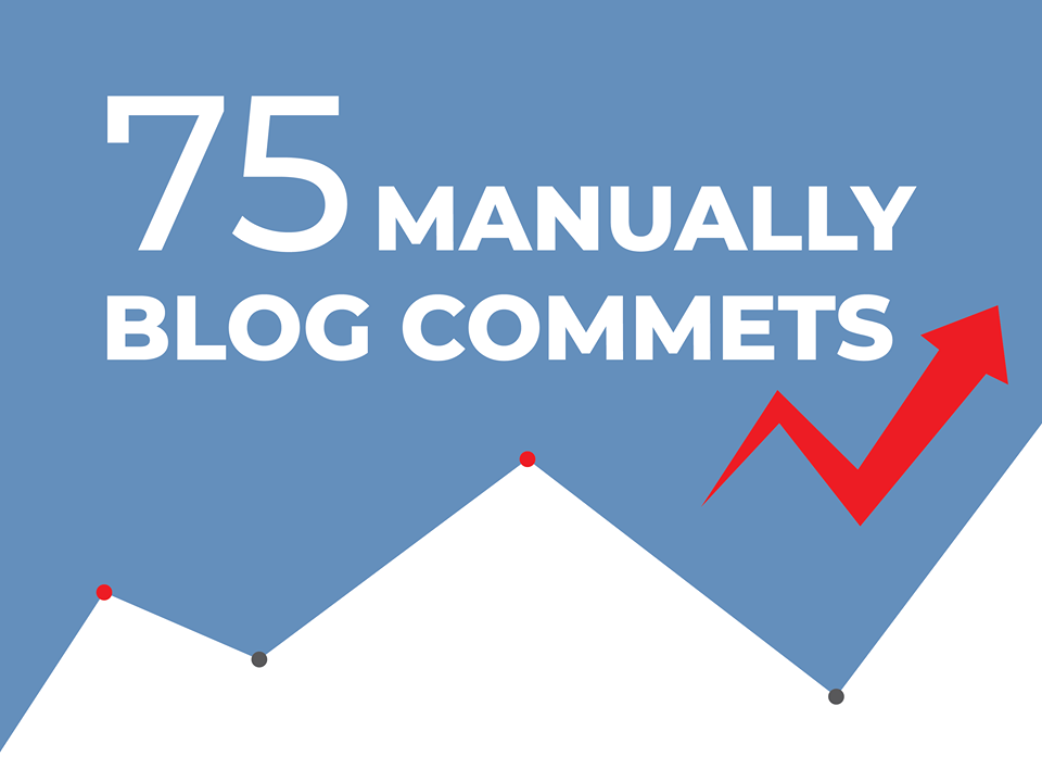 I will do 75 blog comments backlinks DA 30plus