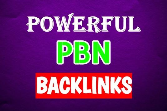 I Will Provide 40 Dofollow Homepage PBN Backlinks Da 25+