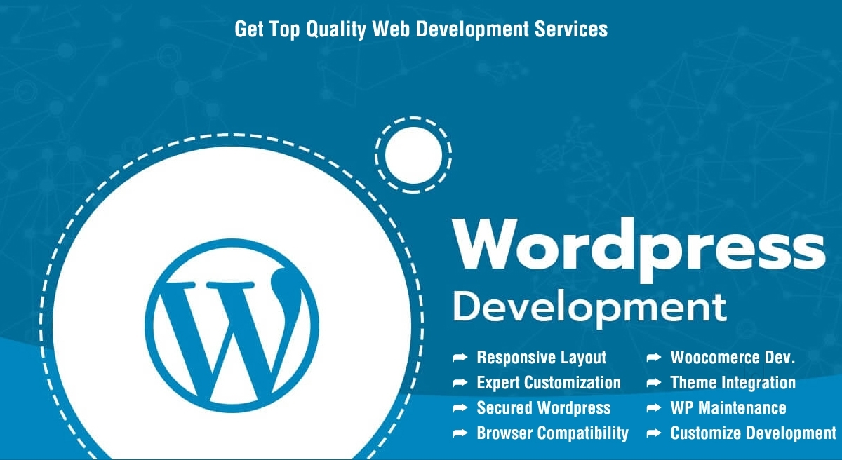 I will design and develop professional wordpress website for your business