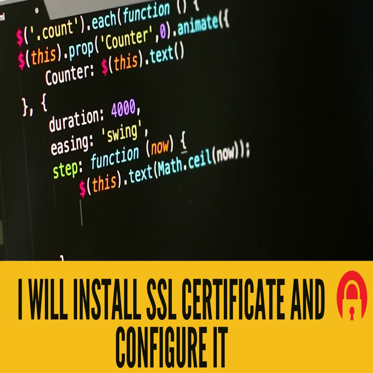 I will setup SSL certificate and configure it http to https