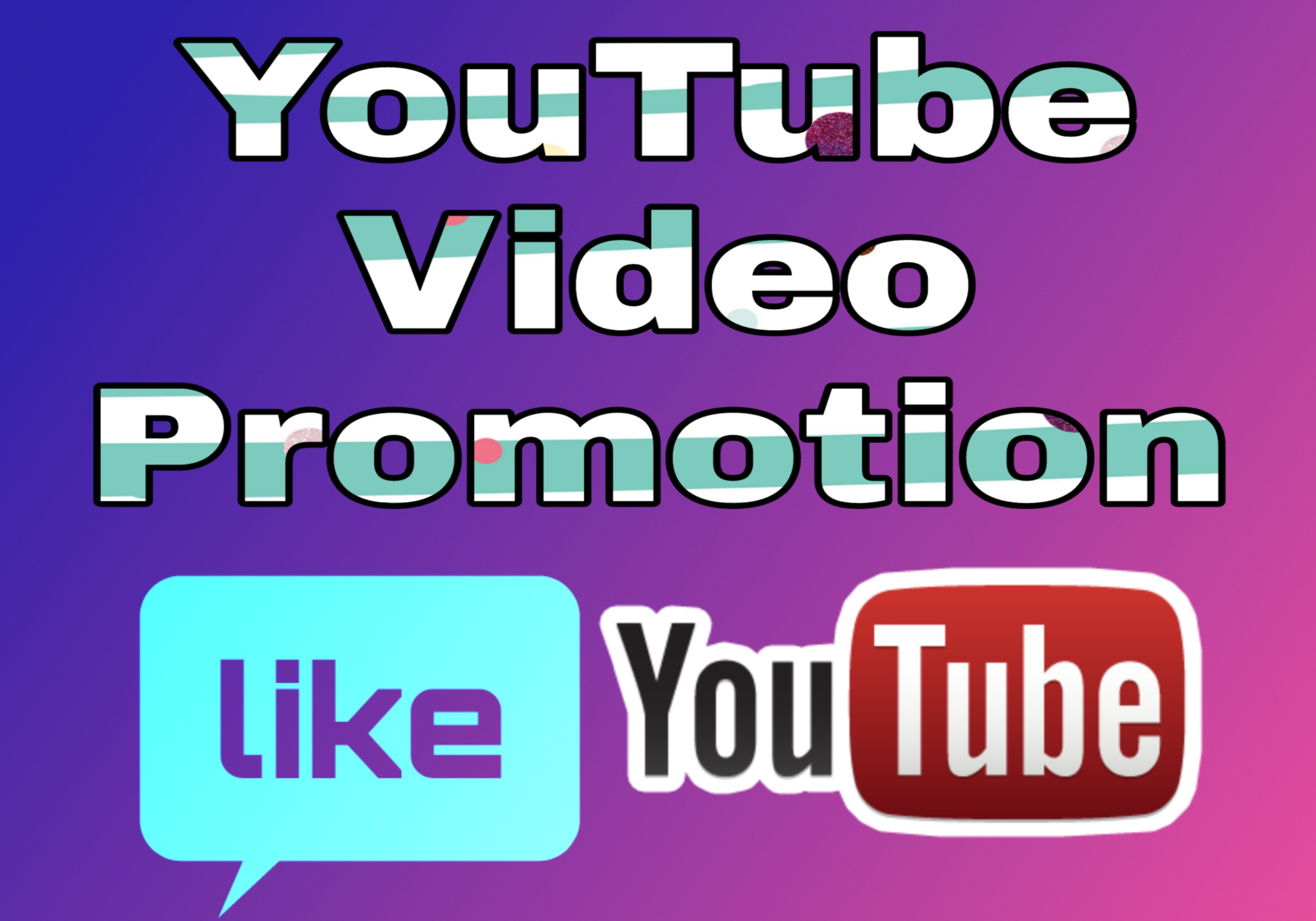 YouTube video promotion package very honestly