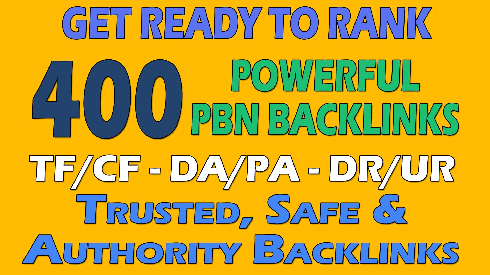 make 400 Permanent Homepage PBN Backlinks