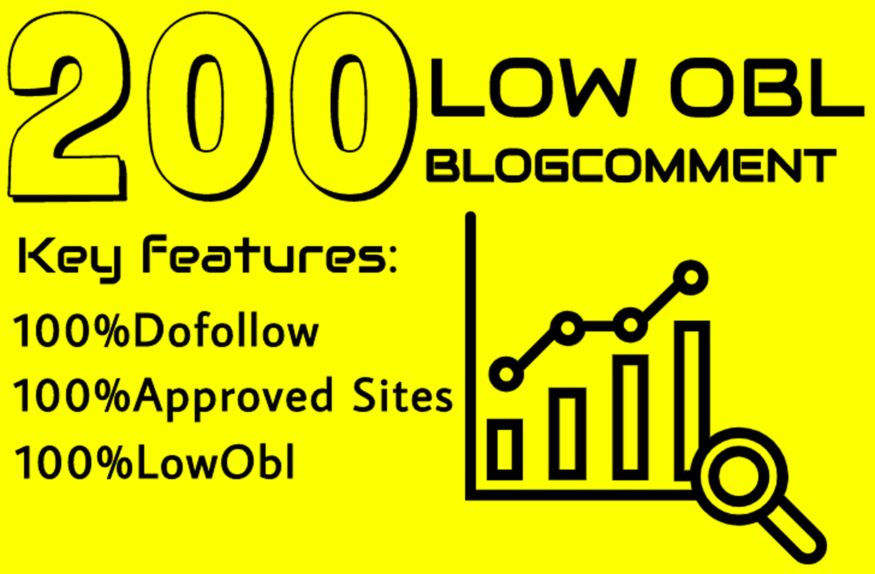 I will do 200 dofollow blog comment low obl