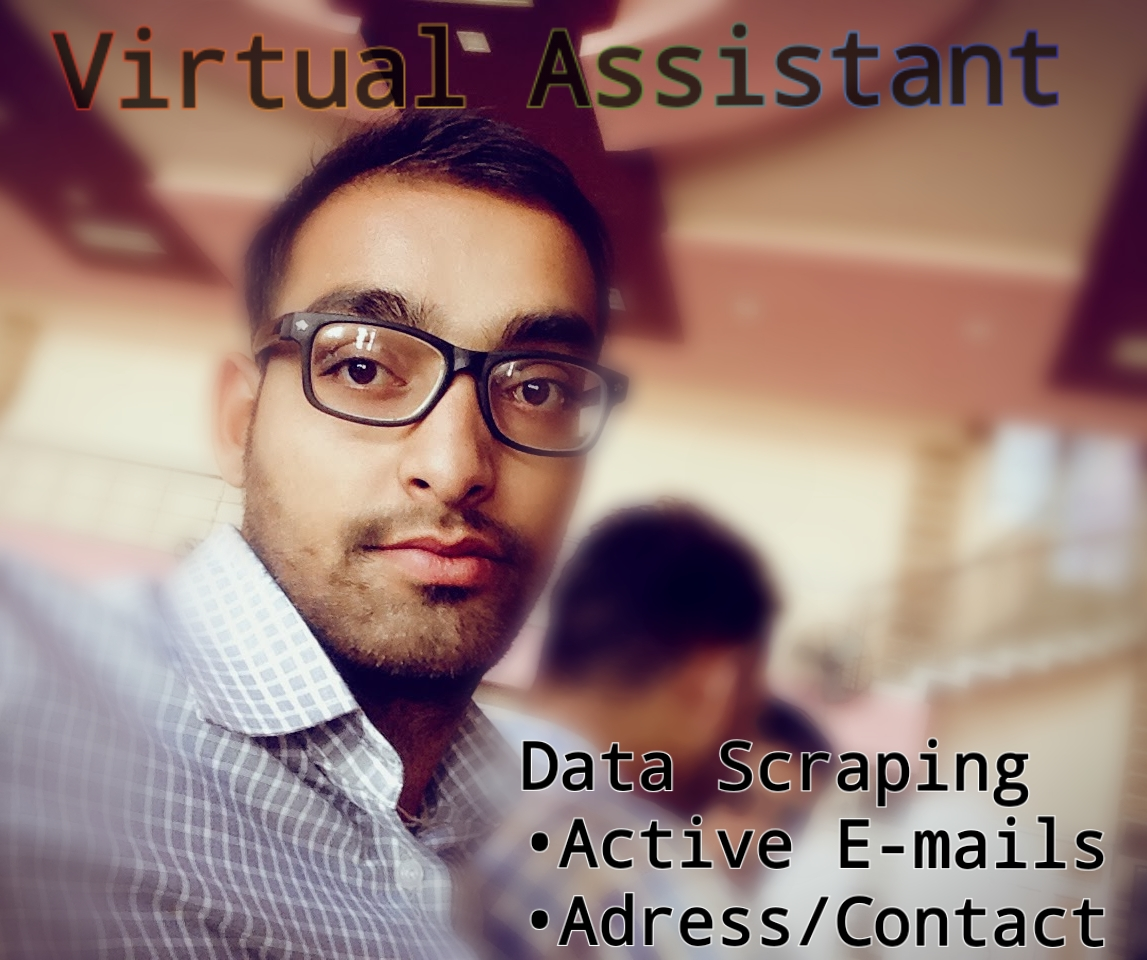 I will do Data Scraping Like active emails and Adress/Contact