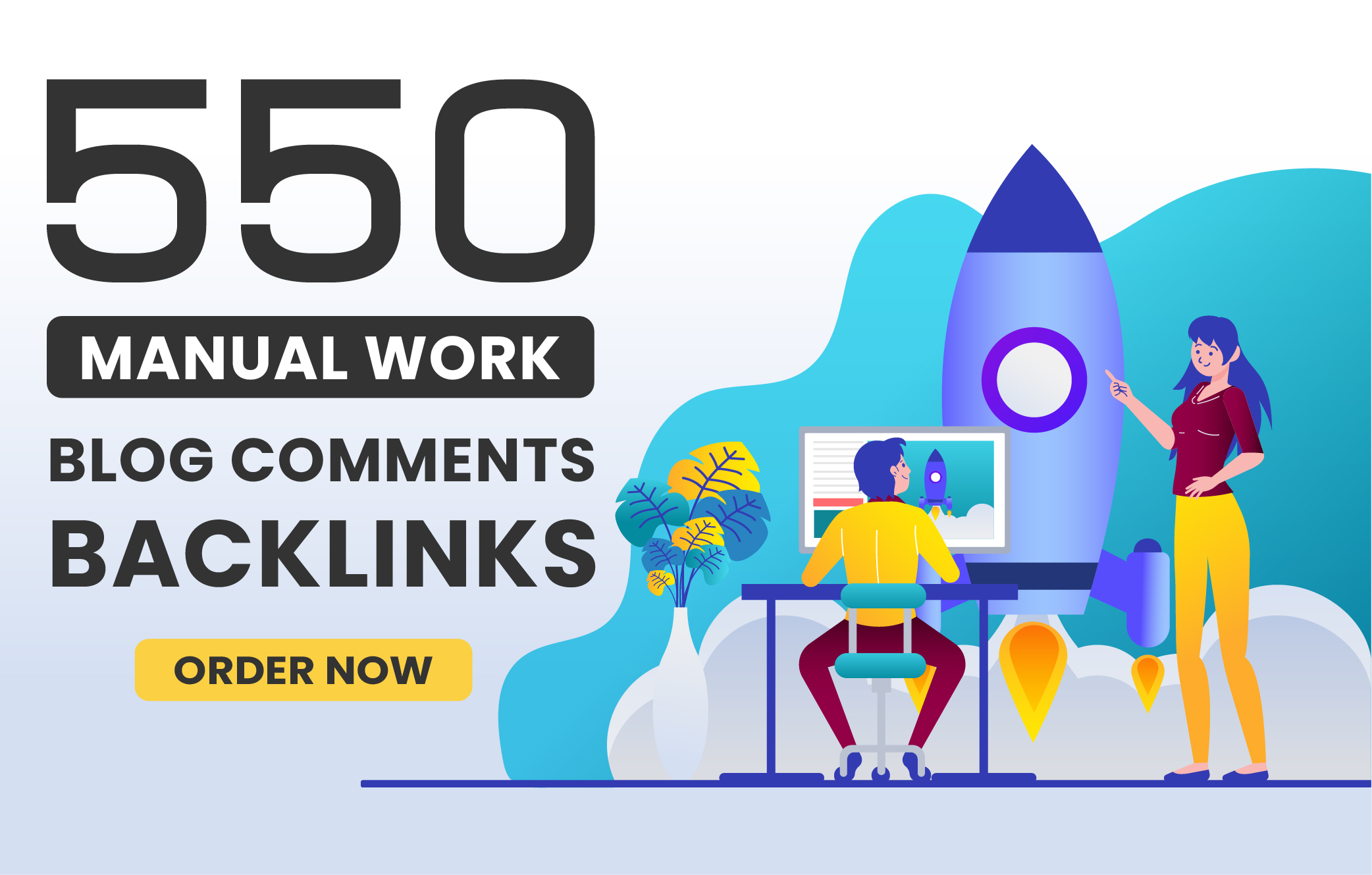 I will make 550 Do-Follow High Quality Blog Comment Backlink with High DA PA