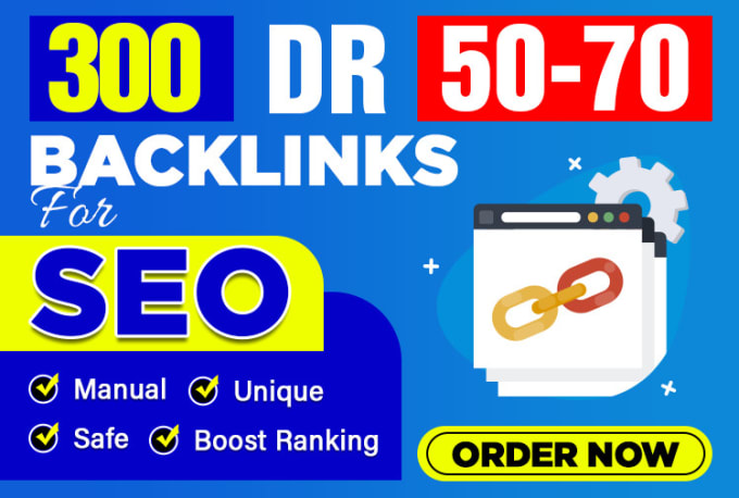 I will make 300 Permanent DR50-70 Homepage high quality PBN Dofollow Backlink