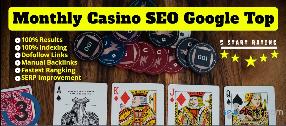 Google 1st Page Guaranteed or Refund Monthly casino Online Poker slots UFABET Related Package