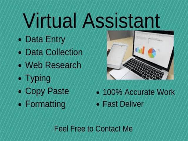 Data entry operator, will finish the work within the time frame