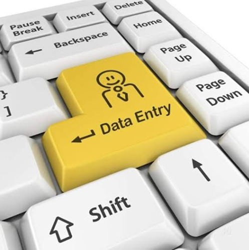 Data Entry work related,  Data formatting services