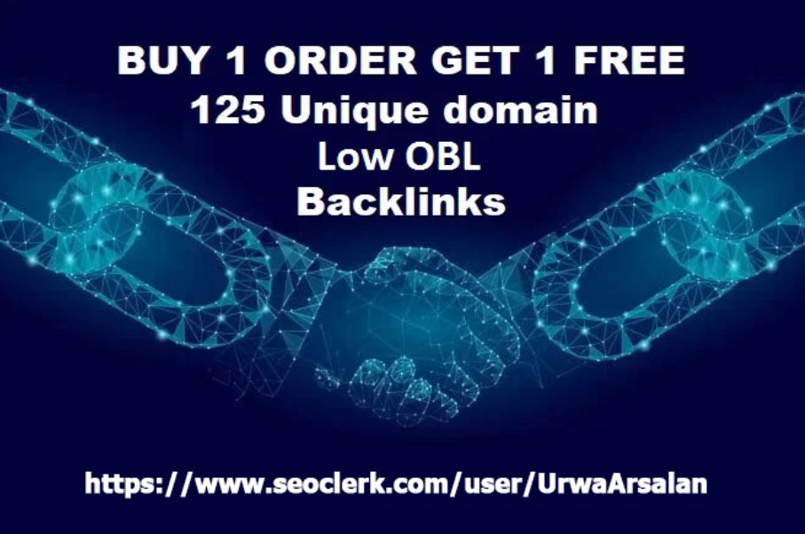 i Will Do 125 Unique Low OBL Blog Comment Dofollow Backlinks On DA 30