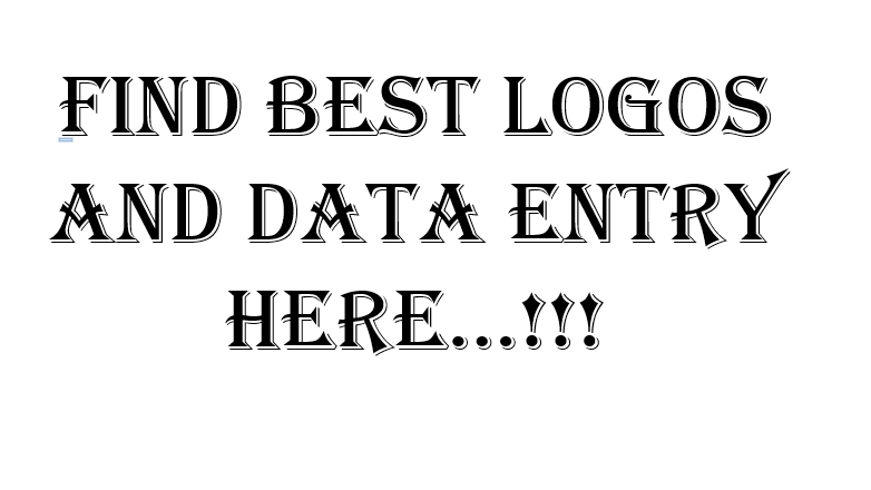 i provide the best logos,  also work related to data entry and translation english-hindi both