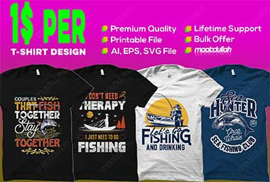 Bulk Custom Typography random niche T Shirt Design