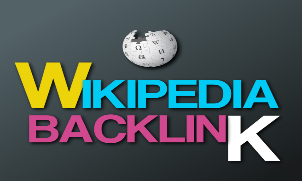 Create a backlink on Wikipedia for your website