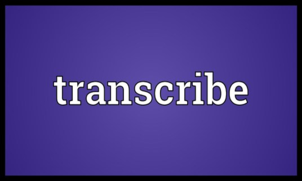 Transcribe 11 minutes of audio or video