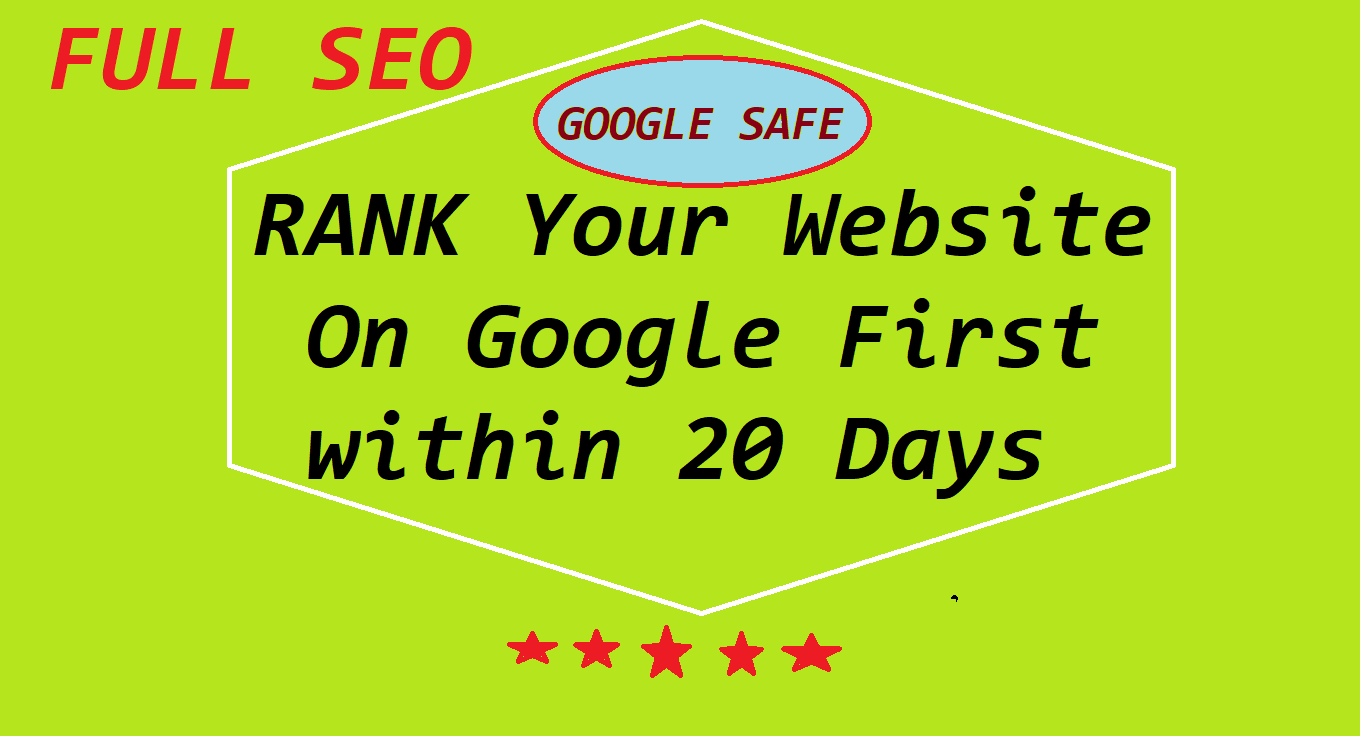 Will Rank Your Website on Google First Page