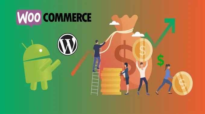 I will make a customized android app for your woocommerce market