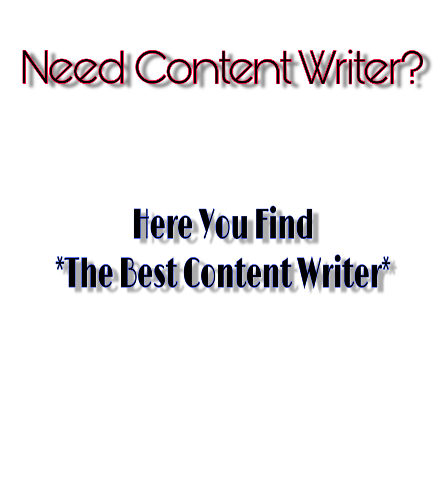 we provide the best content writing for you. Be it object oriented , place oriented or service.