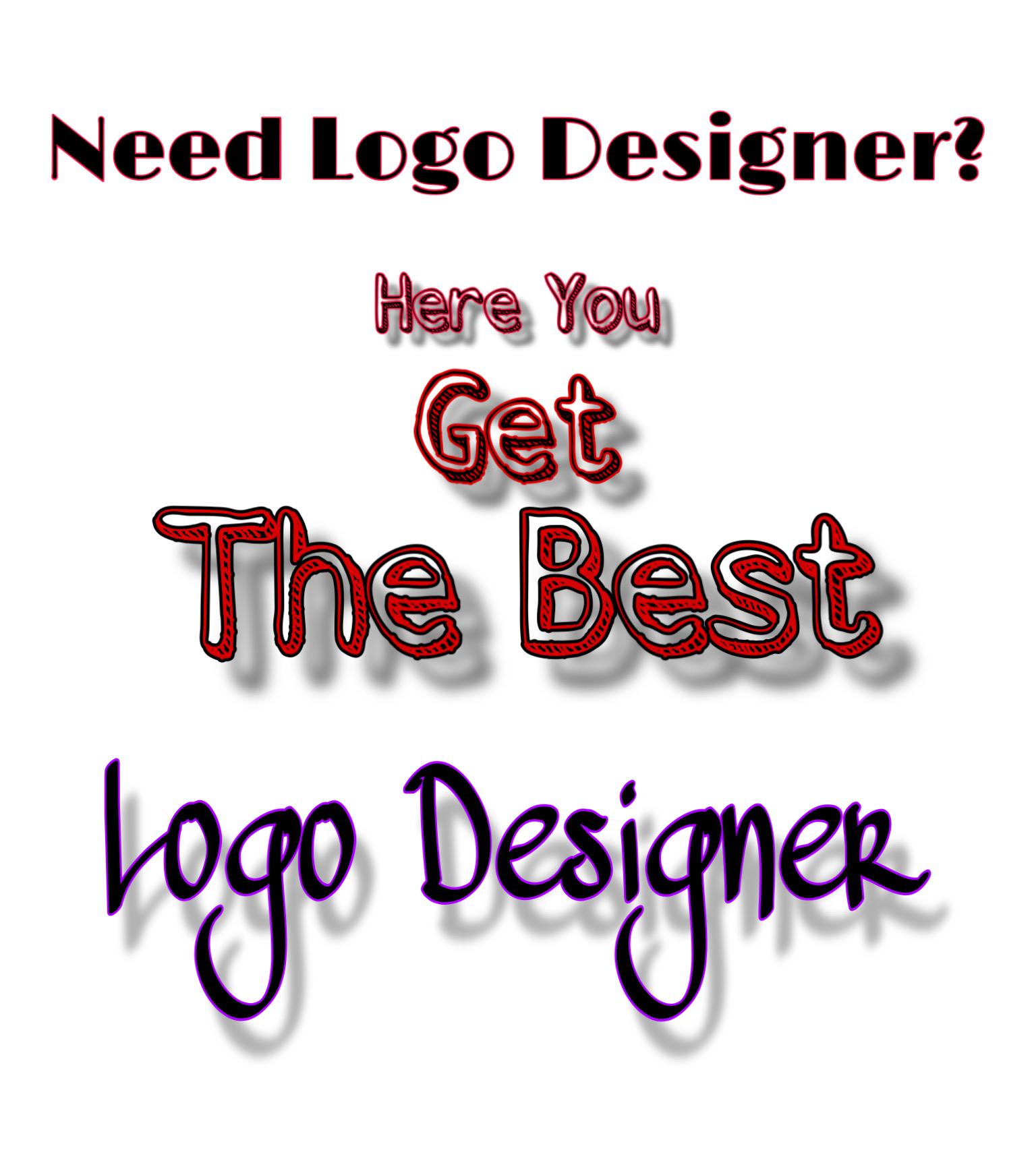 I provide you the best logo you wish for your venture,  team or service anything