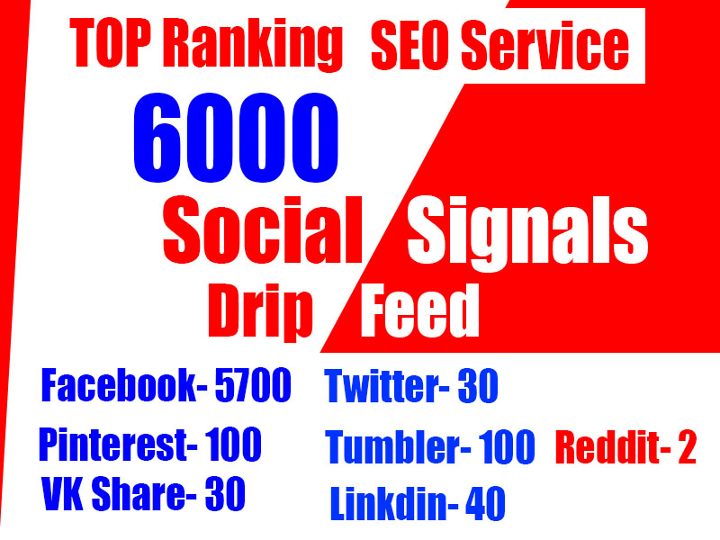 6000 Social Signals for Boosting your website and YouTube in Google naturally