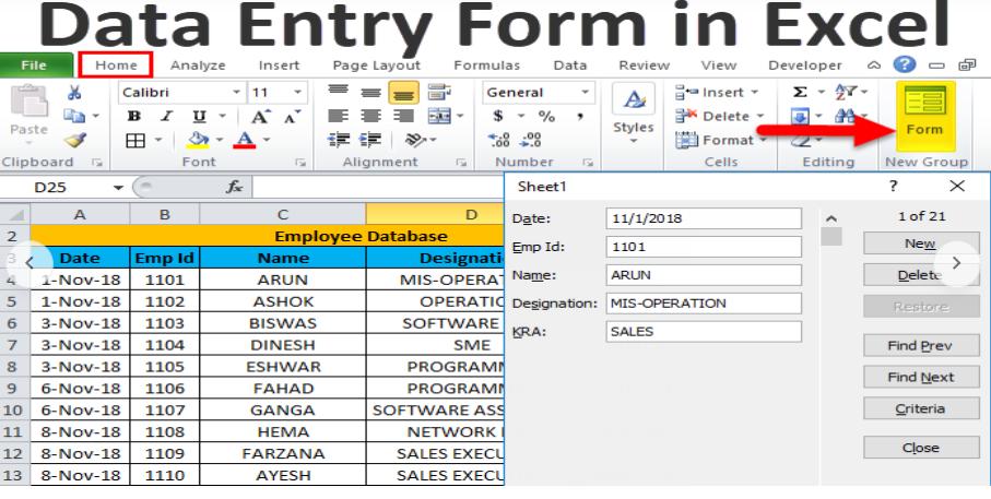 All Data entry in Google Spreadsheet Data Entry