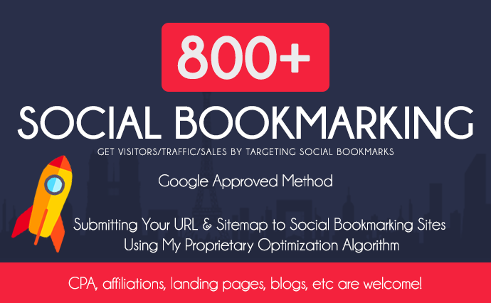 add your website to 800 Social bookmarking websites