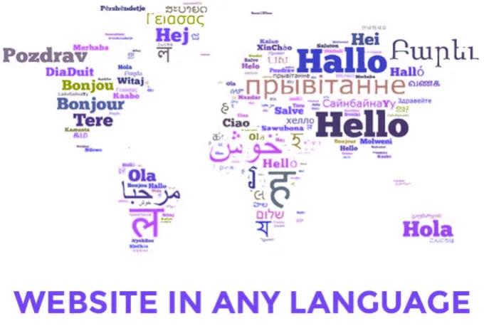 translate theme,  plugin,  template,  app into any language