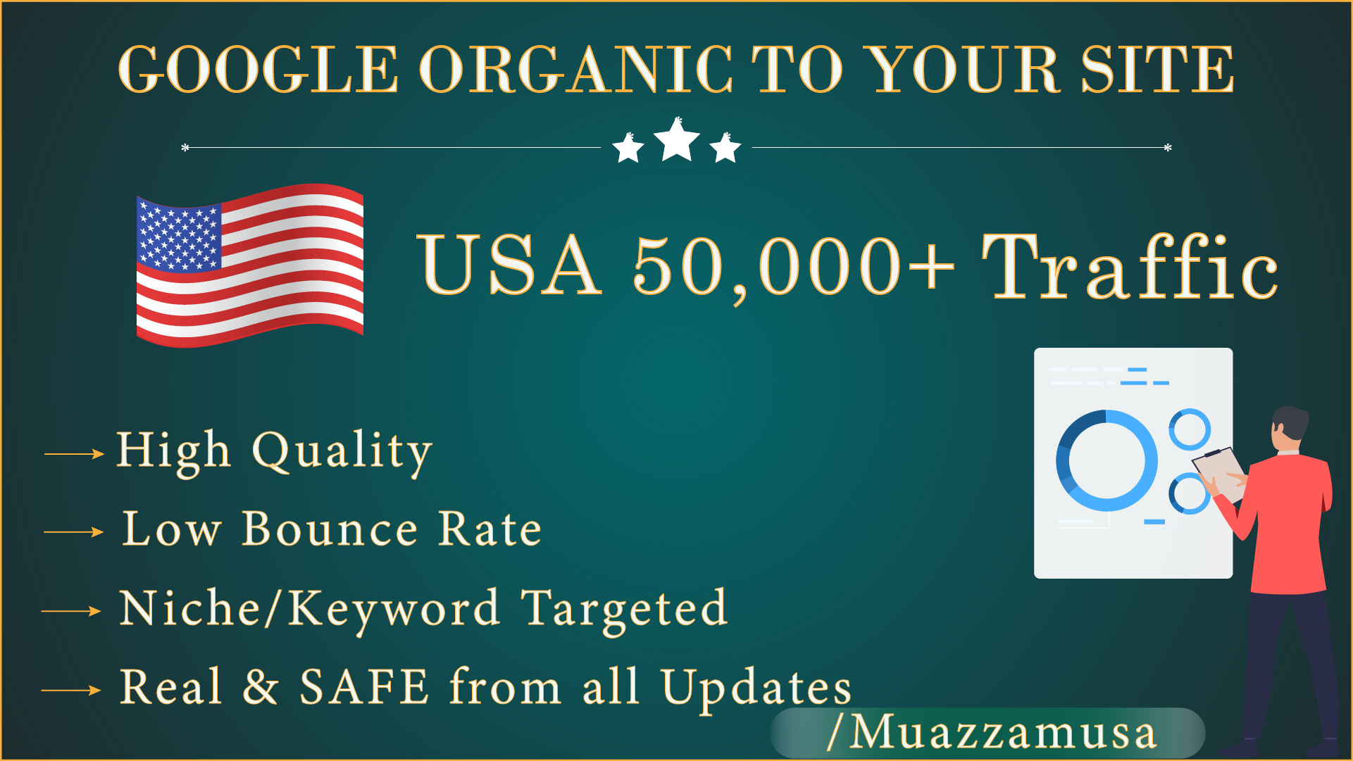 Limited time offer - 50,000+ SEO Organic Traffic from Google For 30 days -Ranking Booster